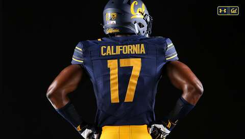 96360ddc0 Back of Cal s new home football jerseys