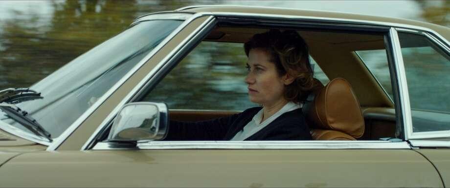 "Emmanuelle Devos plays a grieving mother in Frédéric Mermoud's character-driven ""Moka."" Photo: Film Movement"