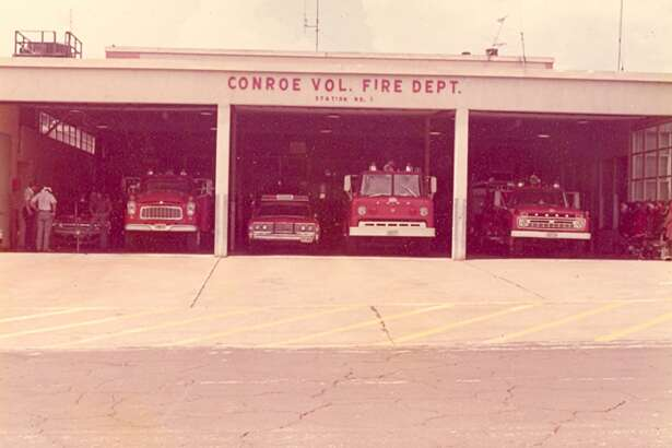 Forged from flames of two citywide blazes in the early 20th century, the Conroe Fire Department has a rich history with tragic beginnings and a bright future with unprecedented growth. A 1970s era glimpse of the department.