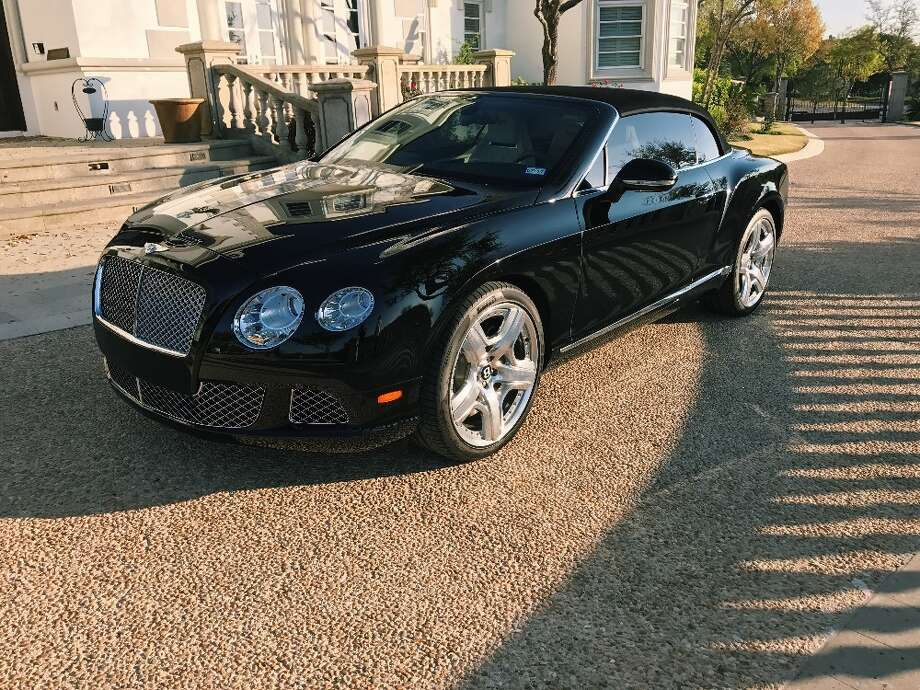 George Strait's 2012 Bentley Continental GTC on the market for $159,000. Photo: Courtesy Roland Cisneros