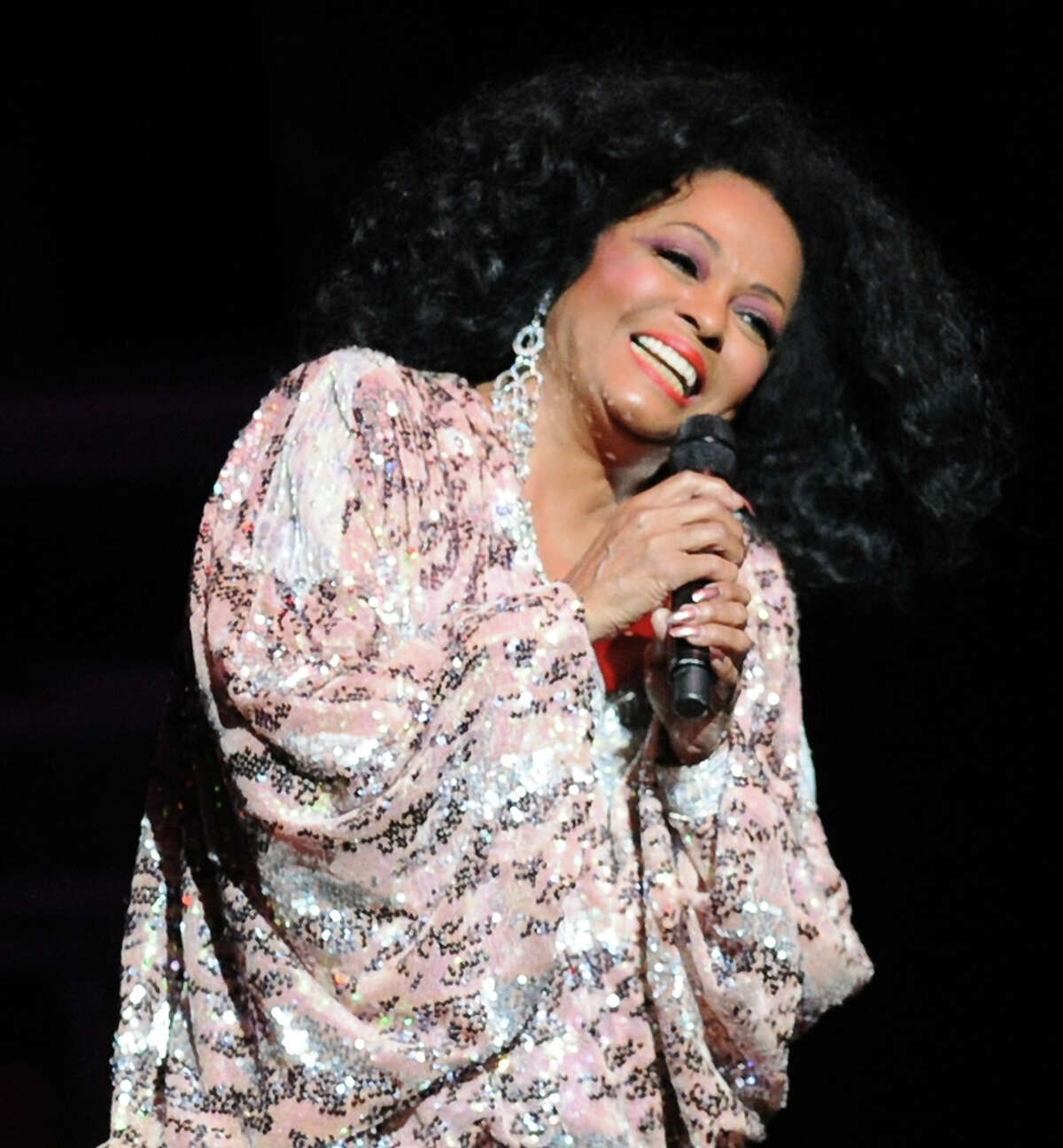 Diana Ross performs at the Palace Theater in Stamford, Saturday night, August 17, 2013.