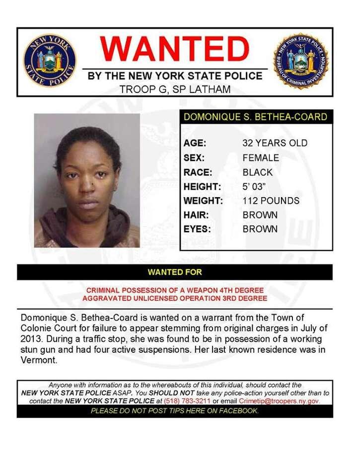 Dominque S. Bethea-Coard, 32. (State Police)