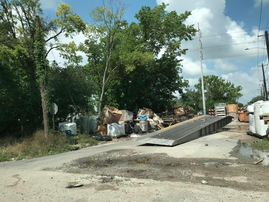 A dump site in Fifth Ward. Photo: Ann Samuels