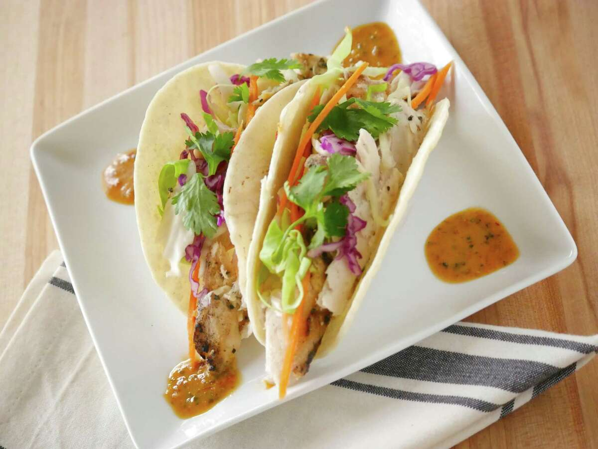 Mahi fish tacos from Zedric's, one of the San Antonio restaurants closed forever thanks to the pandemic.