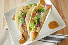 Mahi fish tacos from Zedric's: Fit with Flavor.