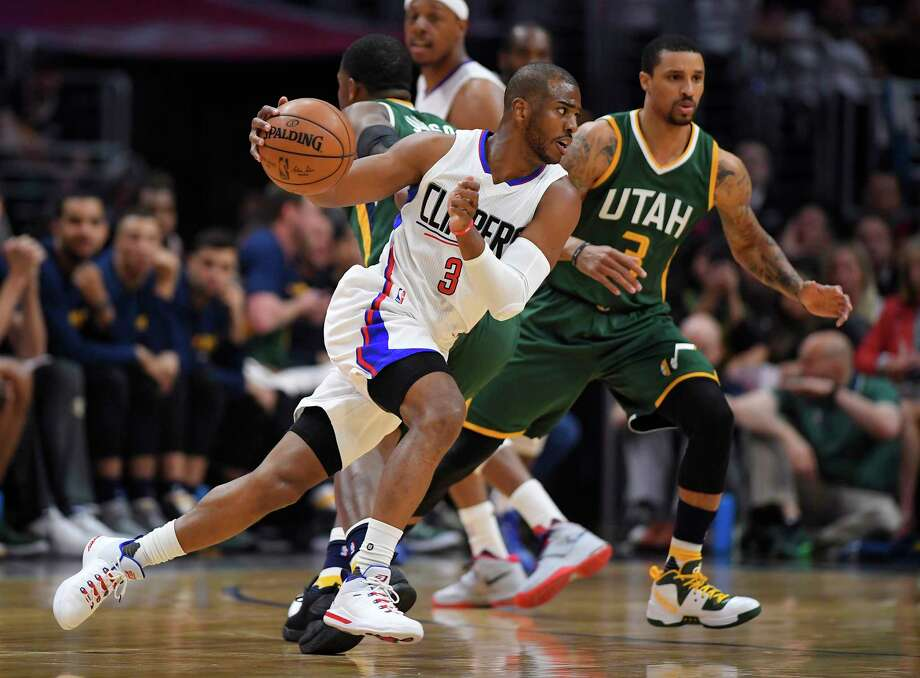 Play-by-play man Bill Worrell said he doesn't believe new Rocket Chris Paul will need the ball to succeed in Houston. Photo: Mark J. Terrill, STF / Copyright 2017 The Associated Press. All rights reserved.