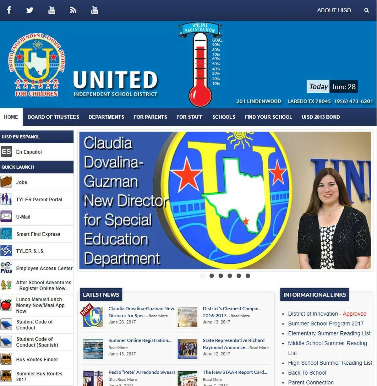 Click through the gallery to see how United ISD schools performed on the Texas Education Agency's accountability rankings.