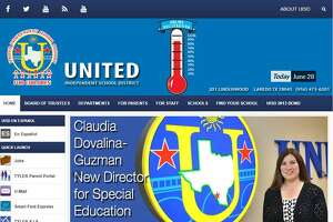 Lipsitt said United Independent School District's website is inaccessible to people who suffer from vision and fine motor impairment.