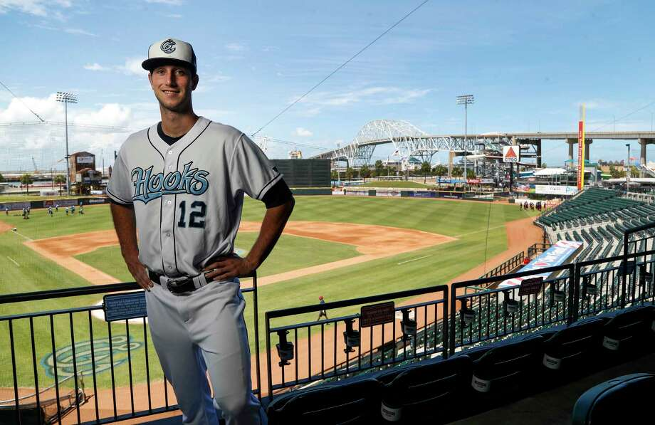 Top Astros prospect Kyle Tucker, the fifth overall pick in the 2015 draft, recently arrived at Class AA Corpus Christi after playing just 64 games at high-A. Photo: Karen Warren, Staff Photographer / 2017 Houston Chronicle