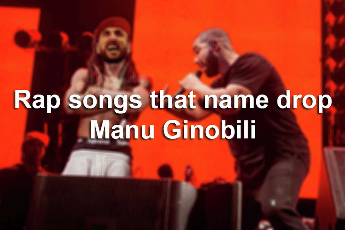 There's no doubt that Manu Ginobili's basketball skills are seen around the U.S., but some musicians are making sure his status is heard around the world.Click ahead to view some rap songs that shout out the Spurs star.