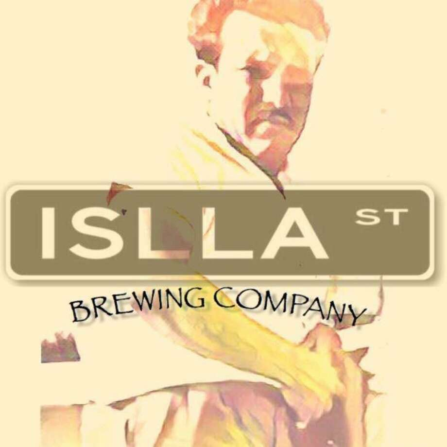 The Islla St. Brewing Co. logo, highlighting the owners' grandfather Ricardo Peña. Photo: Courtesy Photo