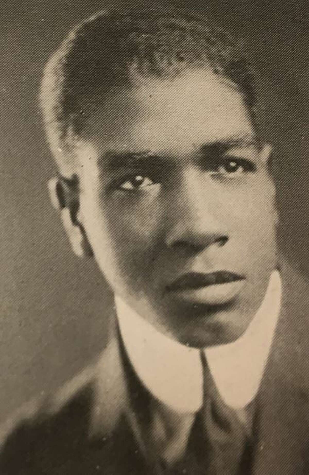 Wendell King from the 1922 edition of The Garnet, the Union College yearbook.