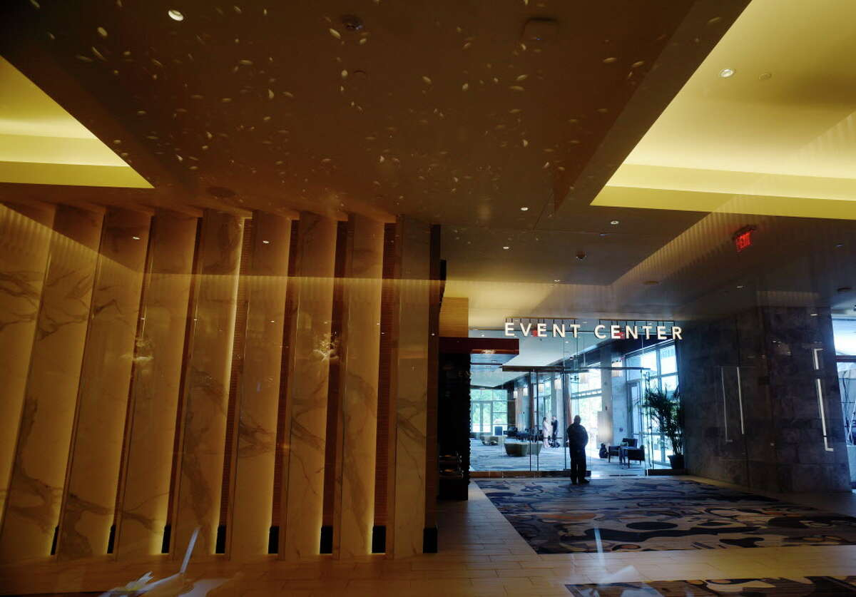 A view of the entrance to the Event Center at the Rivers Casino and Resort on Wednesday, June 28, 2017, in Schenectady, N.Y. (Paul Buckowski / Times Union)