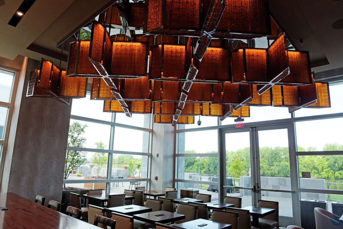 A view of the sunroom at The Landing Hotel at the Rivers Casino and Resort on Wednesday, June 28, 2017, in Schenectady, N.Y. (Paul Buckowski / Times Union)
