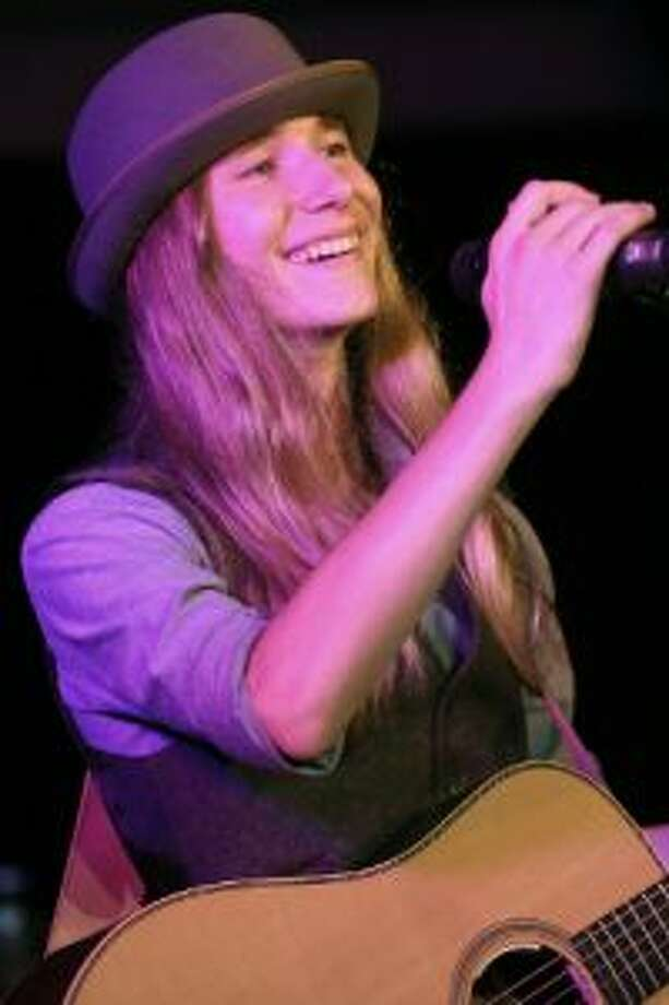 In this file photo, Sawyer Fredericks performs at a gala in Saratoga Springs in September 2015. (Joe Putrock/Special to the Times Union)
