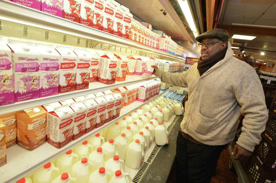 Stew Leonard's and GGP confirmed in June 2017 they are working together to site a supermarket at one of GGP's destination malls and shopping centers in the Tri-state area, without immediately specifying a location. Westport's Robert Williams is pictured shopping in March 2017 at Stew Leonard's in Norwalk, Conn., where the company is based. Photo: Alex Von Kleydorff / Hearst Connecticut Media / Norwalk Hour
