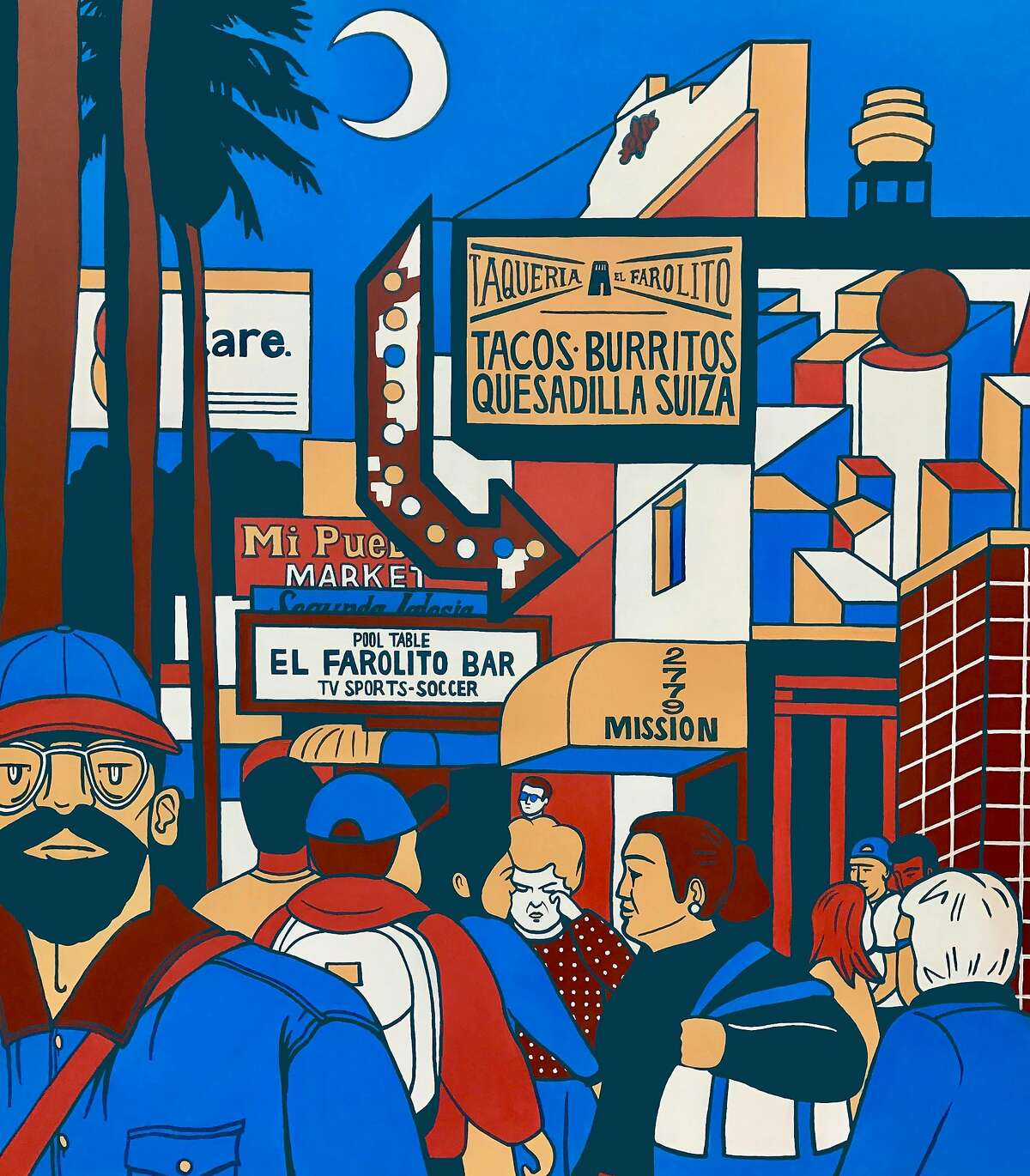 24th Street in the Mission by Emily Fromm