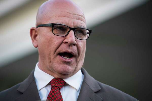 National Security Adviser Army Lt. Gen. H.R. McMaster, seen May 15, mounted a spirited defense of much of President Trump's foreign policy at a Wednesday conference in Washington, D.C.
