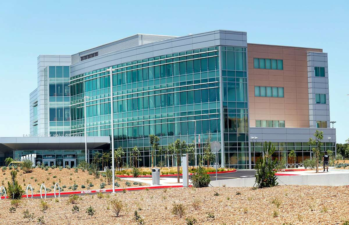 East County Hall of Justice in Dublin, Calif., on Wednesday, June 28, 2017.