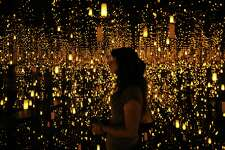 """The """"Infinity Mirrored Room -- Aftermath of Obliteration of Eternity"""", an installation at the Yayoi Kusama: Infinity Mirrors exhibit, which is on display June 30 through September 10 at the Seattle Art Museum. Photographed, Wednesday, June 28, 2017."""