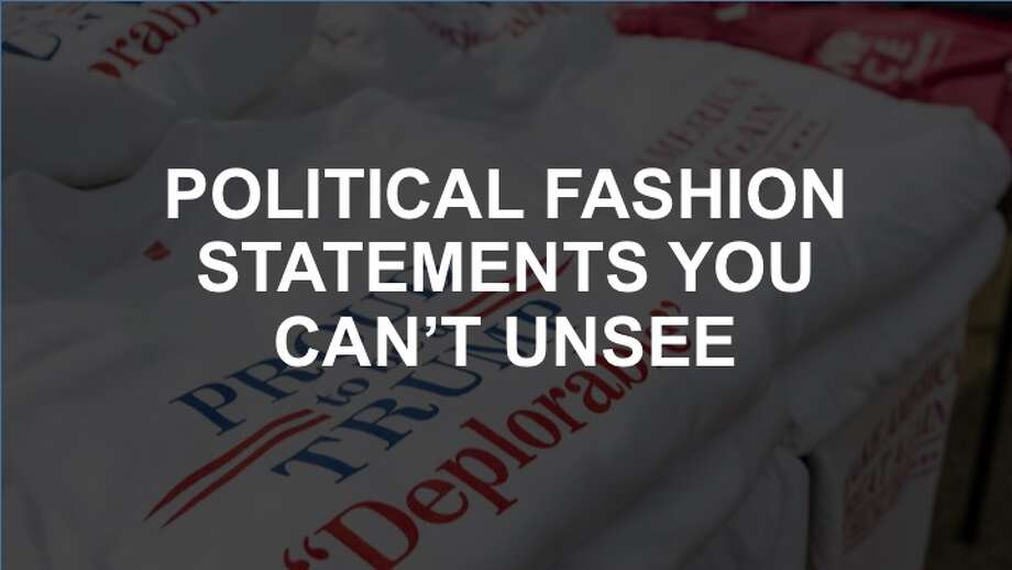 Click on, if you dare, to see some of the year's gaudiest fashion statements inspired by world leaders.
