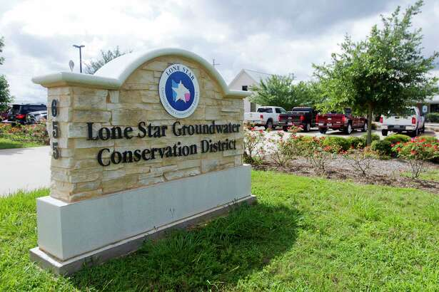 The Lone Star Ground Conservation District building is seen Wednesday, June 28, 2017, in Conroe.
