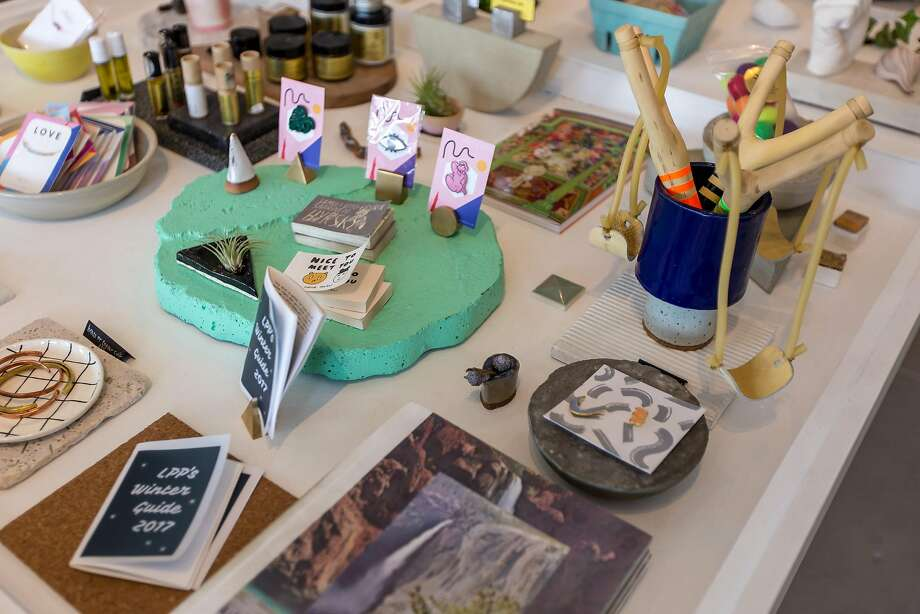 Little Paper Planes on Valencia Street offers artistic handcrafted goods. Photo: Garrick Ramirez