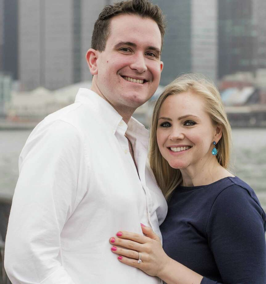 Andrew Porter, formerly of New Milford, and Jennifer O'Brien recently announced their engagement. A 2018 wedding is planned. Photo: Courtesy Of The Porters / The News-Times Contributed
