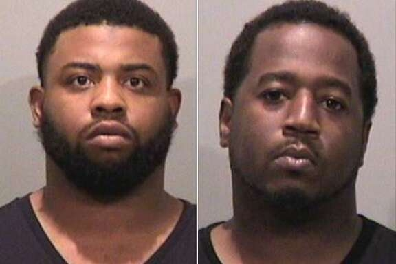 Antonio Gainley, left, and Kenneth Stanley were arrested last week in Fremont, police said.