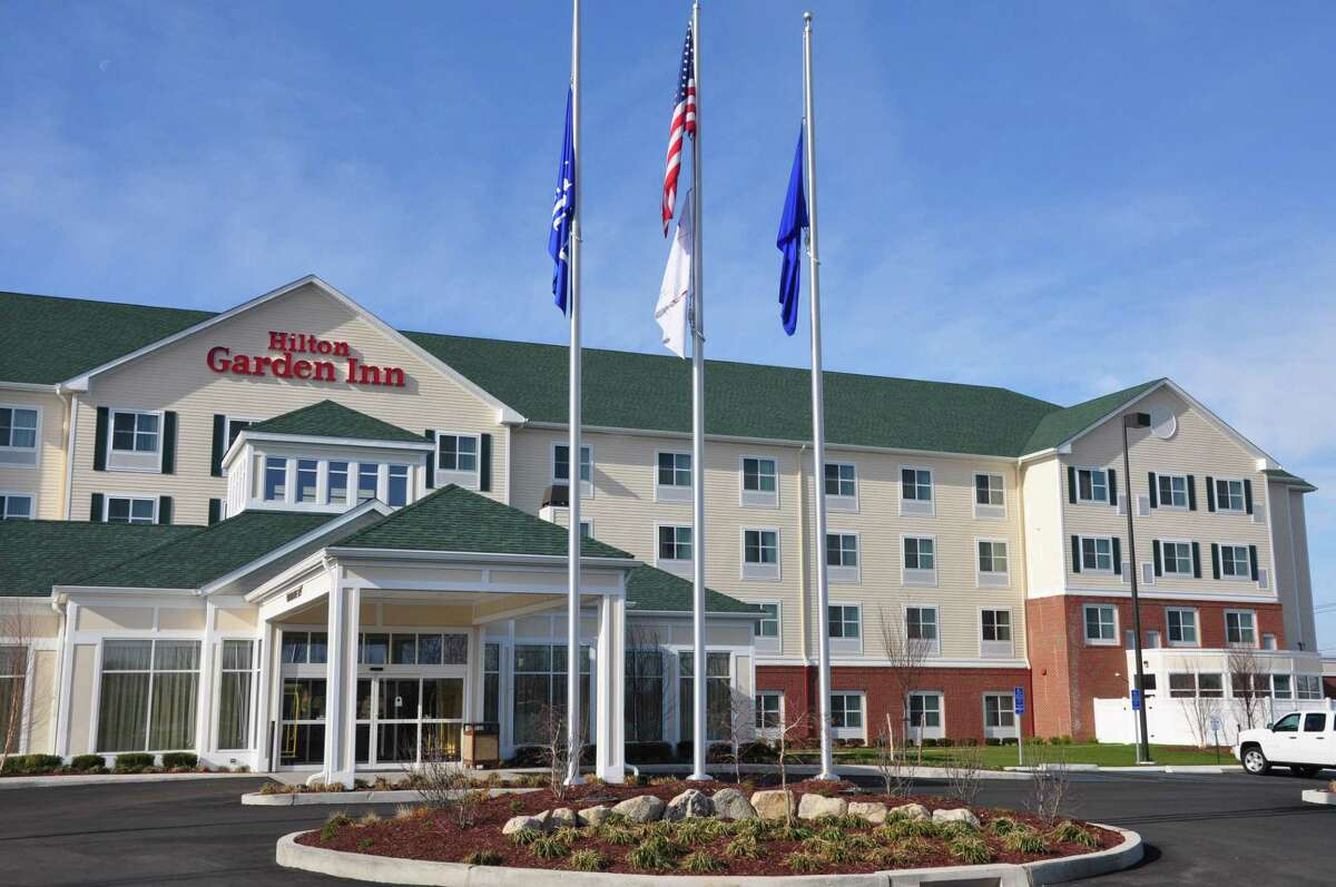 The Hilton Garden Inn at 291 Old Gate Lane in Milford, Conn. (Photo courtesy Hilton Garden Inn)