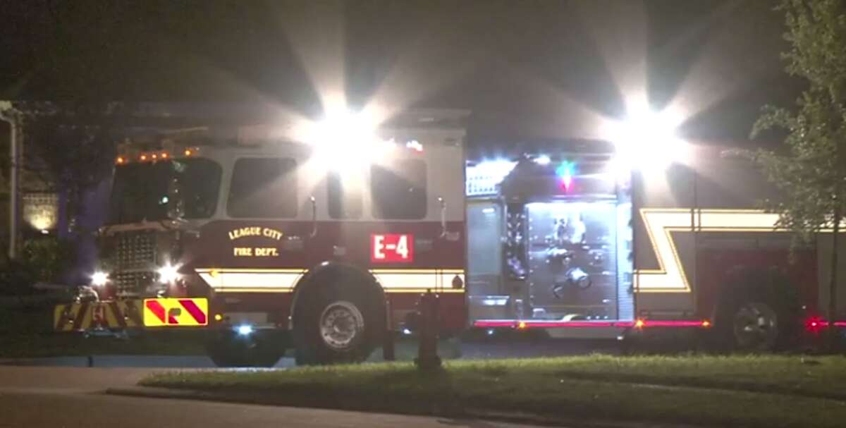 Police are investigating a shooting late Wednesday in League City that left one dead and one injured. (Metro Video)