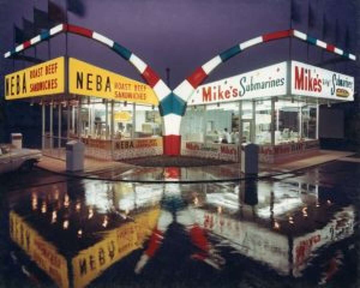 Mike's Nebaopened on 6/23 at 16 Edison Ave., Schenectady, reviving the name and recipes of a Capital Region franchise popular from the 1960s to the 1980s. In photo: This Mike's-Neba location was at Central and Colvin avenues in Albany until the early 1990s. The photo, by E. M. Weil, is in the collection of the Albany Institute of History & Art.