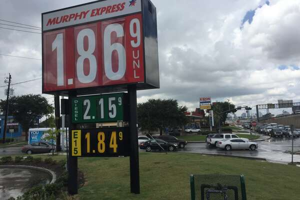 The Murphy Express and Exxon Mobil gasoline stations on Wayside Drive off Interstate 45 have been locked in a price war for months.