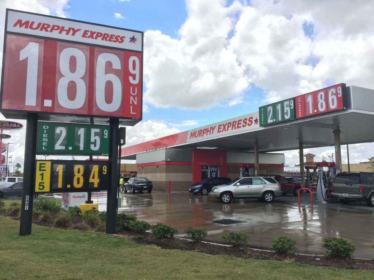 The Murphy Express opened within the last year, in direct competition with the Exxon Mobil across the street.