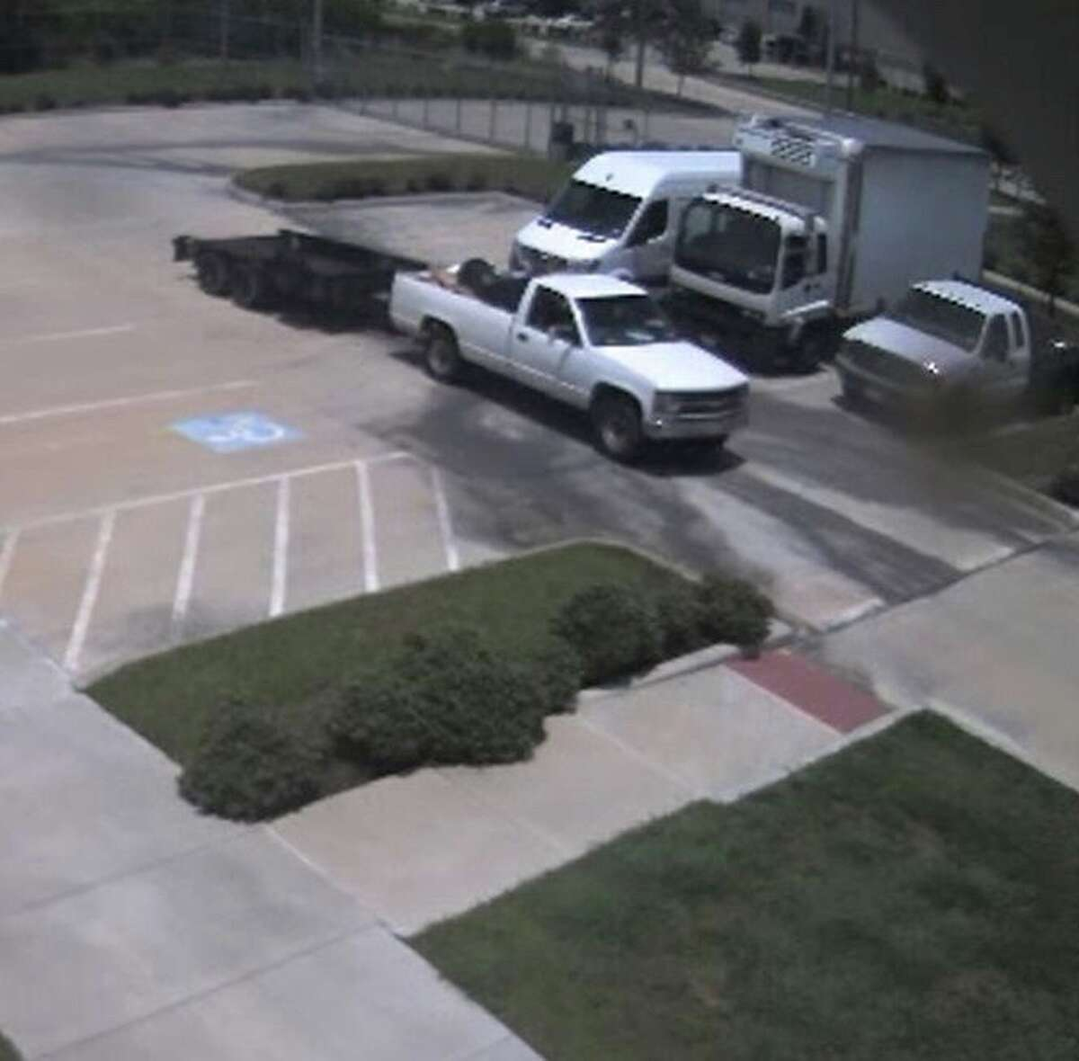 Authorities are on the hunt for a man caught on camera stealing cameras.
