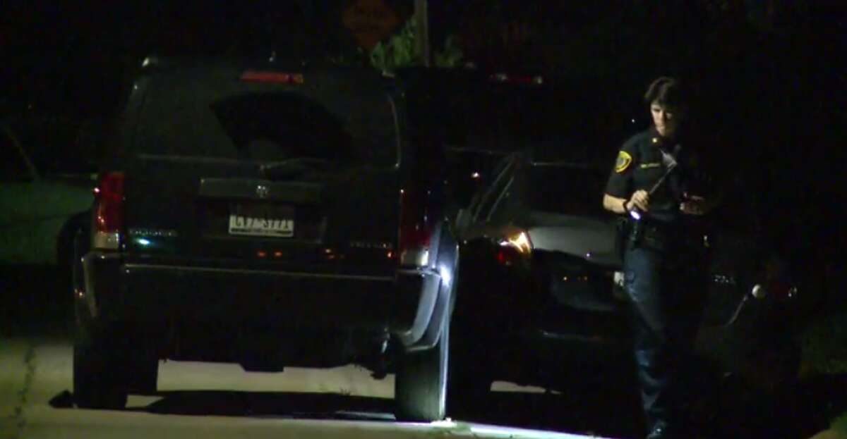 Police are investigating a shooting late Wednesday in southeast Houston that left one man injured. The shooter possibly acted in self-defense, said Capt. Megan Howard with the Houston Police Department. (Metro Video)