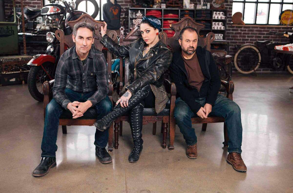 Frank Fritz, Mike Wolfe, hosts of American Pickers