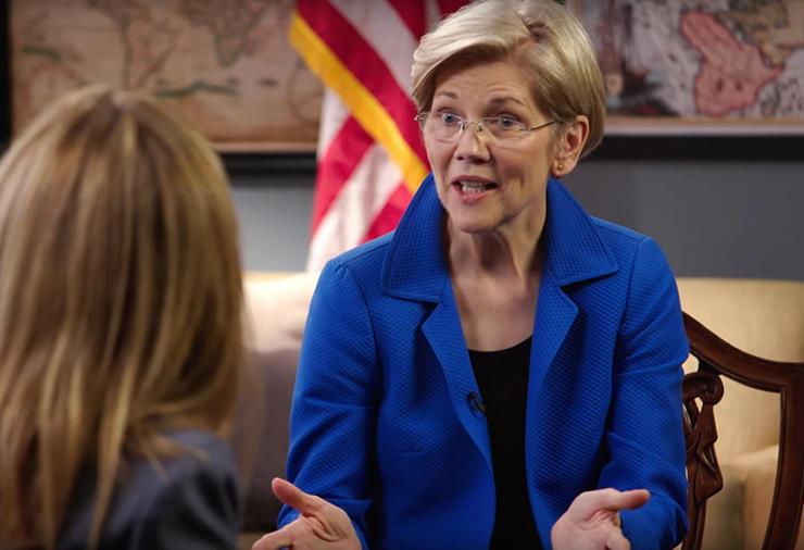 Bury the medals of Wounded Knee -- Sen. Elizabeth Warren signs on