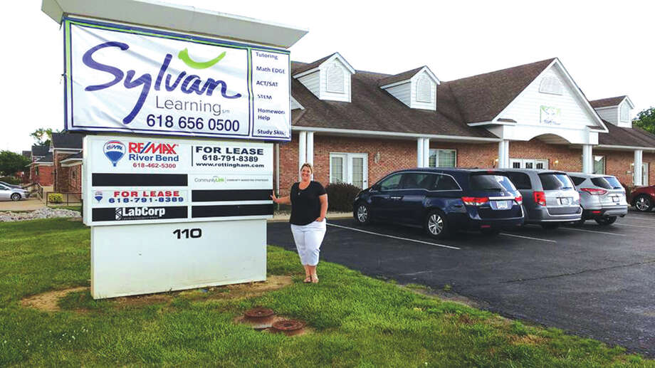 Co-owner Misty Menossi outside Sylvan Learning Centers new location Photo For The Intelligencer
