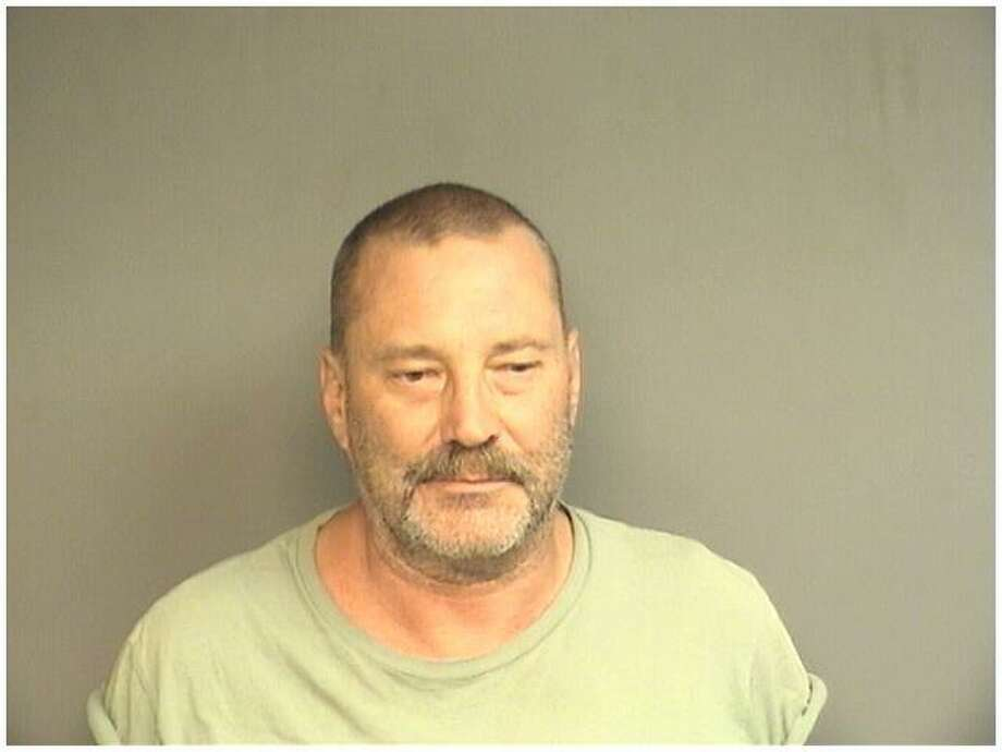 Ricky Jensen, 57, of Stamford, was charged with possession of two assault weapons after he called police to complain his girlfriend's son was using his car without permission. Photo: Stamford Police / Contributed