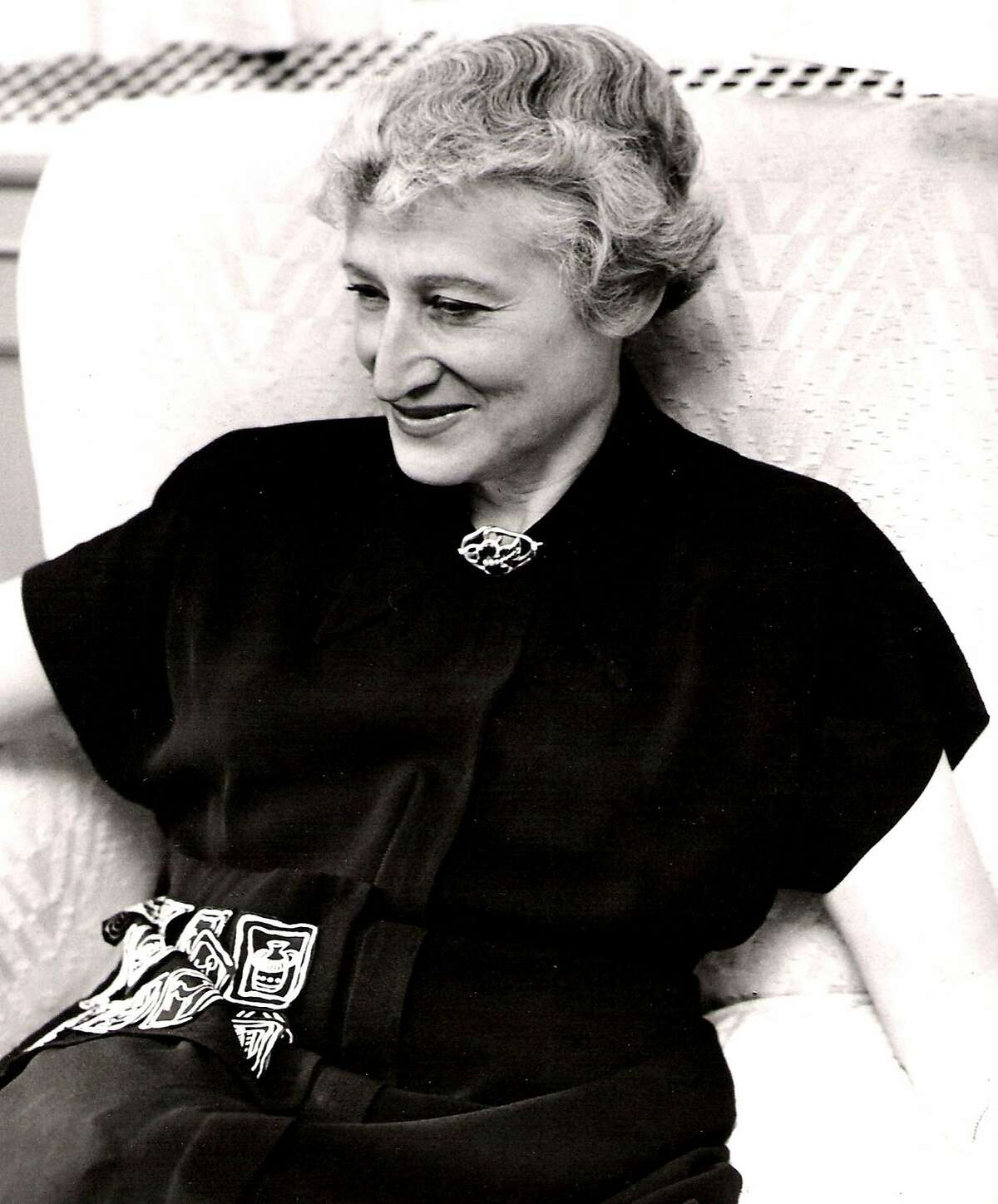 An undated photo of author Vera Caspary, author of