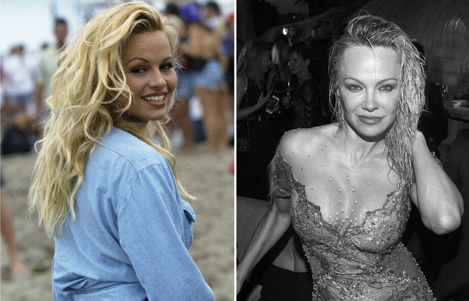 "Pamela Anderson is most well-known for her Playboy modeling years and her role on ""Baywatch."" Here she is at the beginning of her career and when she turned 50 in 2017. Continue to see the blonde beauty through the years. Photo: Getty Images"