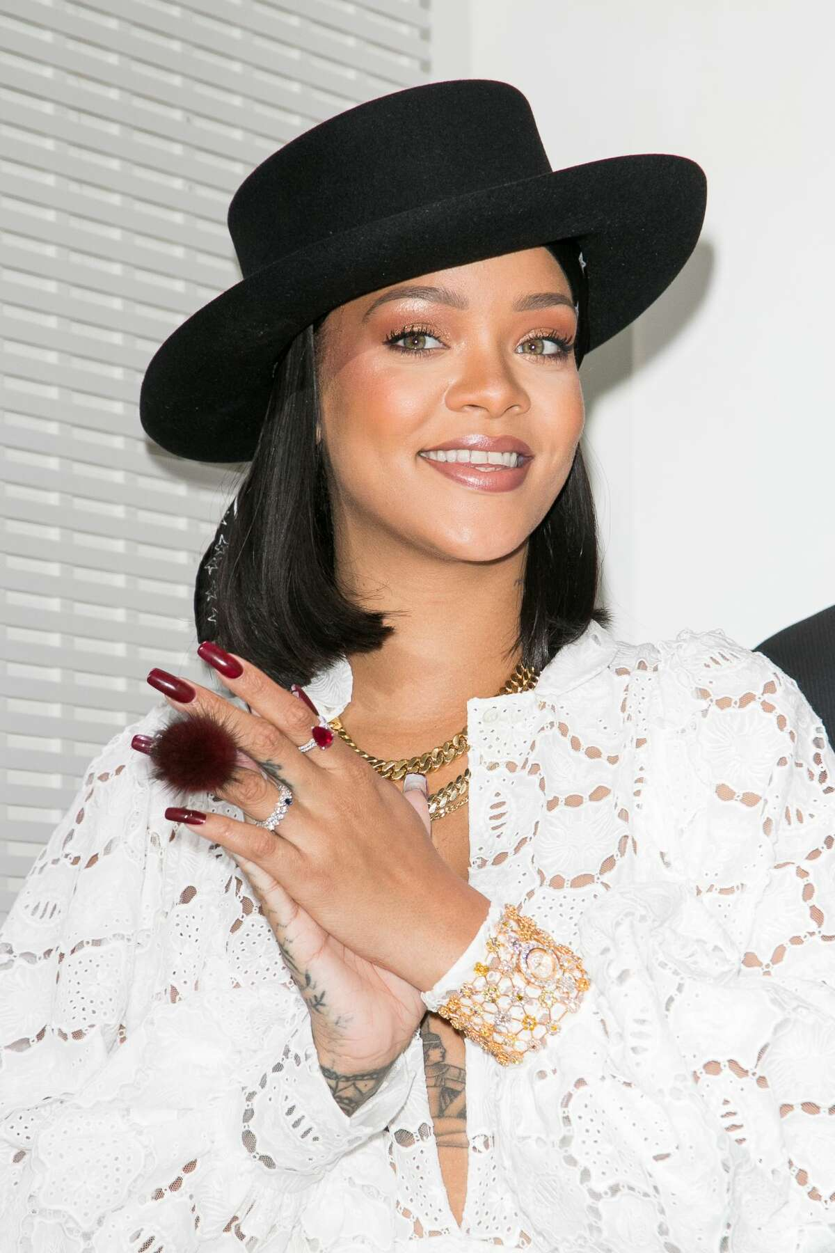Rihanna's relationship with a Saudi billionaire has surfaced thanks to some newly emerged photos... >>Keep clicking for a look at the couple together. Plus, the many different faces of Rihanna...