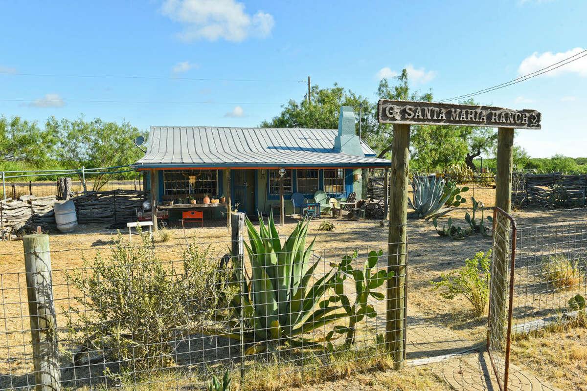 Exterior view of Meg Guerra's ranch home in San Ygnacio, Texas on Tuesday, June 27, 2017.