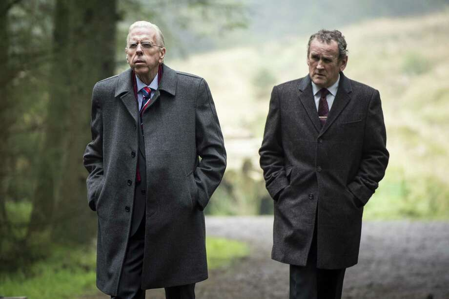 "Timothy Spall (left) is Ian Paisley and Colm Meaney is Martin McGuinness in Nick Hamm's historical drama ""The Journey."" Photo: Steffan Hill / Steffan Hill / © Steffan Hill 2015"