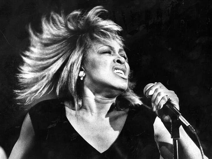 Tina Turner performs Photo ran December 11, 1984, P. 42