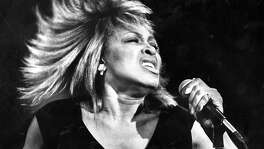 Tina Turner performs Photo ran December 11, 1984, P. 42