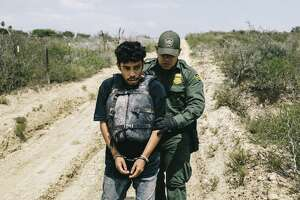 Border Patrol agent Christian Salmon apprehends a Honduran national who crossed the Rio Grande in an inflatable raft near Roma, Texas, May 15, 2017. Some readers suggest that we take too narrow a view of undocumented immigrants.