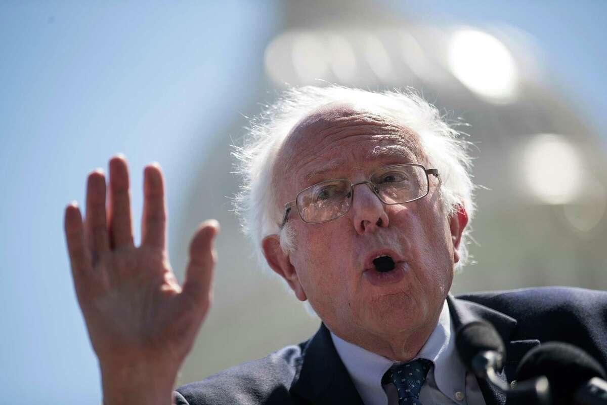 3. U.S. Sen. Bernie Sanders Sanders and Clinton waged a divisive primary battle.