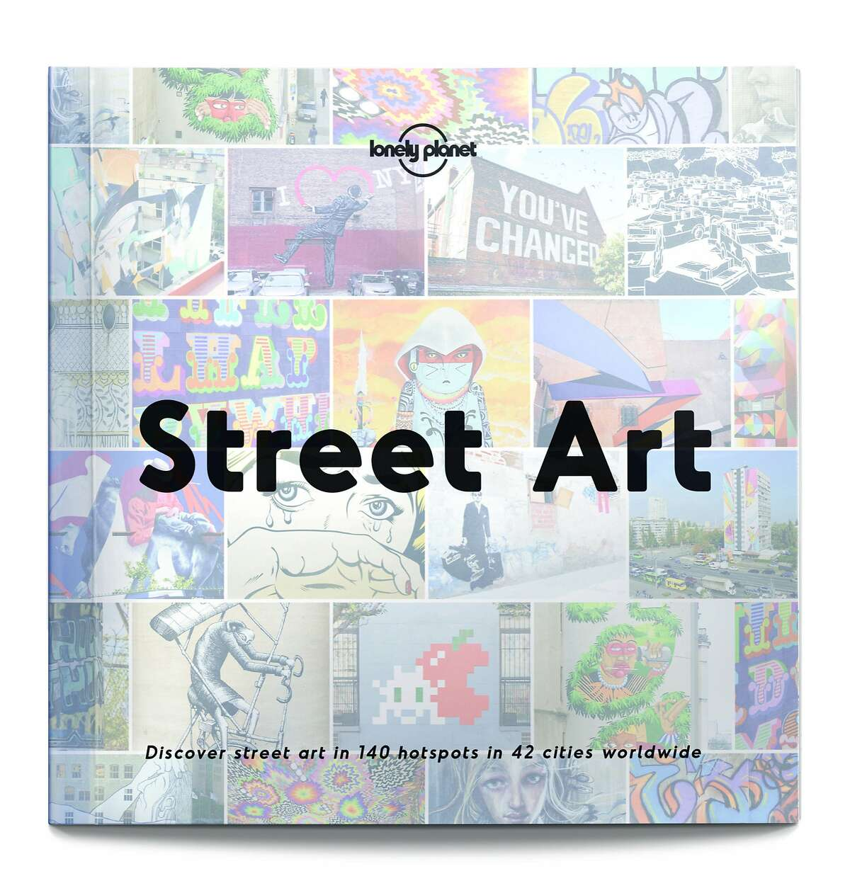 """The cover for Lonely Planet�s """"Street Art."""""""
